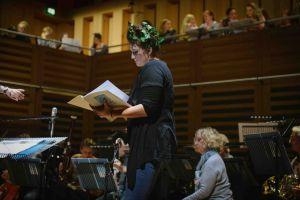 Hannah Poulsom Rehearsal