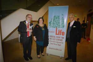 Lionel Oscar Segal, Mayors Islington And Camden Foyer