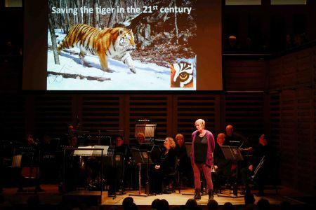 Sarah Christie ZSL Pre Concert Talk Hall One